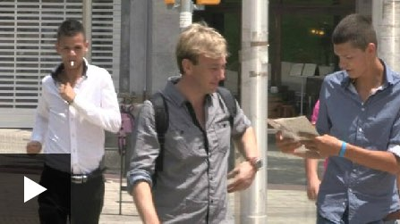 Vídeo: Carteristes mostren a la BBC com roben a Barcelona