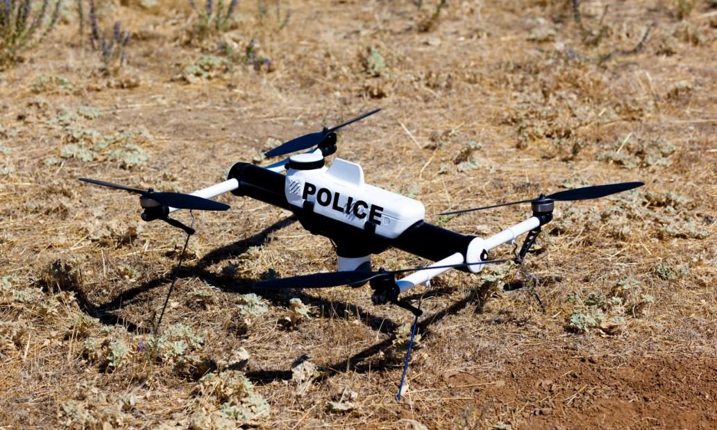 Drone d'un cos policial nord-americà.