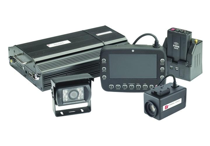 El sistema embarcat de vídeo DTX de l'empresa adjudicatària Federal Signal Vama