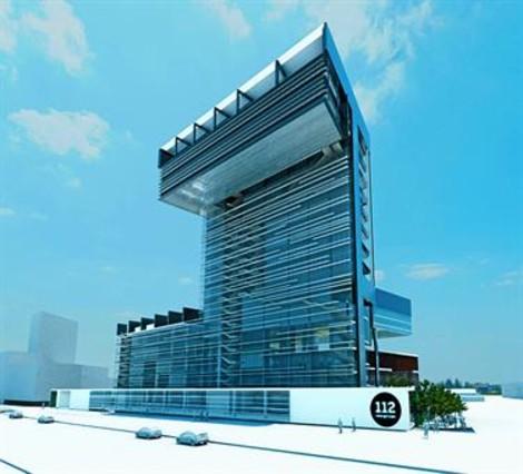 Edifici 112 projectat a la Sagrera, amb un pressupost de 80 M€